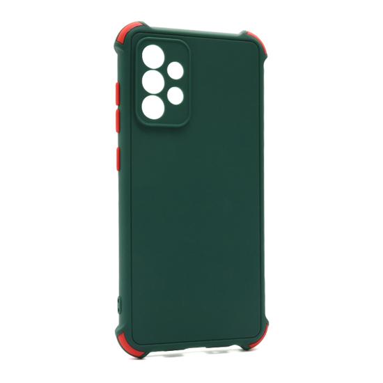 Futrola CRASHPROOF COLORFUL za Samsung A525F/A526B Galaxy A52 4G/A52 5G tamno zelena