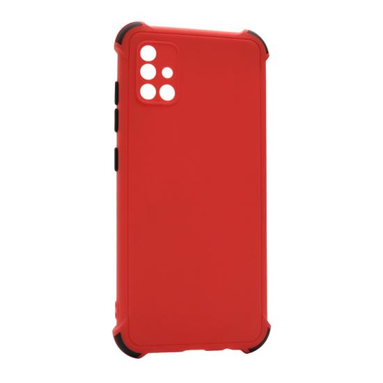 Futrola CRASHPROOF COLORFUL za Samsung A715F Galaxy A71 crvena