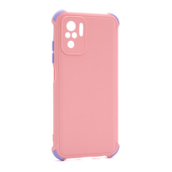 Futrola CRASHPROOF COLORFUL za Xiaomi Redmi Note 10 roze