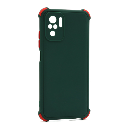 Futrola CRASHPROOF COLORFUL za Xiaomi Redmi Note 10 tamno zelena