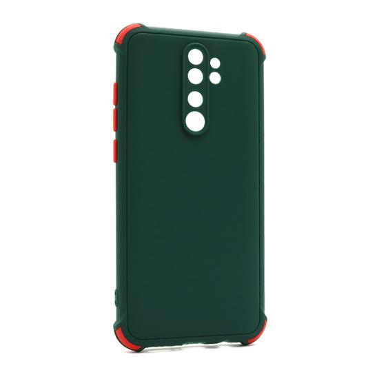 Futrola CRASHPROOF COLORFUL za Xiaomi Redmi Note 8 Pro tamno zelena