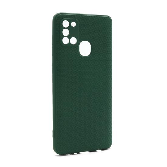Futrola Contour za Samsung A217F Galaxy A21s tamno zelena