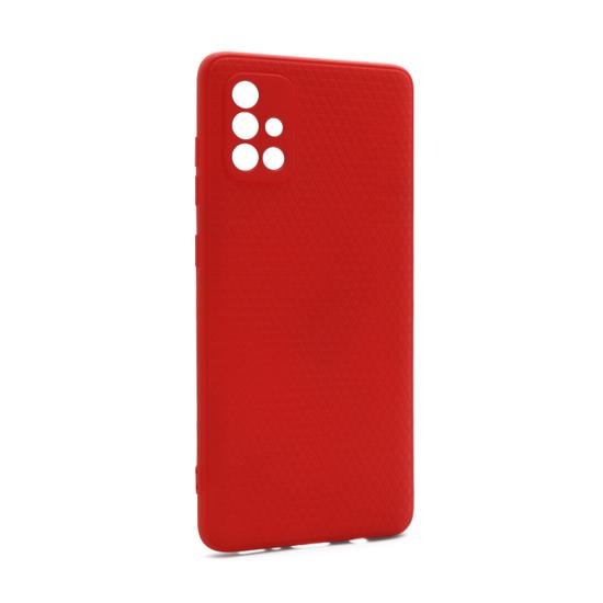 Futrola Contour za Samsung A715F Galaxy A71 crvena