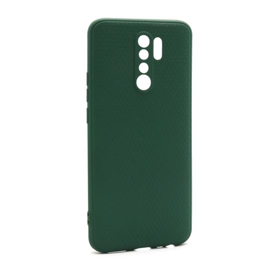 Futrola Contour za Xiaomi Redmi 9 tamno zelena