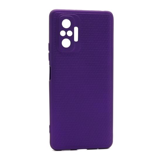 Futrola Contour za Xiaomi Redmi Note 10 Pro-10 Pro Max ljubičasta