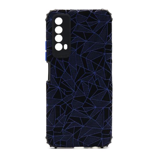 Futrola Elegant Mosaic za Huawei P Smart 2021/Y7a plava