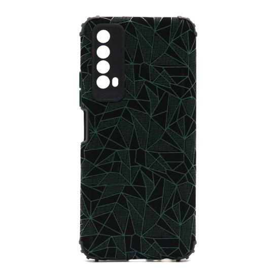 Futrola Elegant Mosaic za Huawei P Smart 2021/Y7a zelena