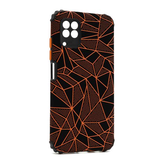 Futrola Elegant Mosaic za Huawei P40 Lite-Nova 6 SE narandžasta