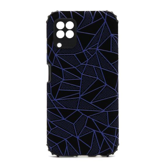 Futrola Elegant Mosaic za Huawei P40 Lite-Nova 6SE plava