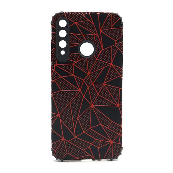 Futrola Elegant Mosaic za Huawei Y6p crvena