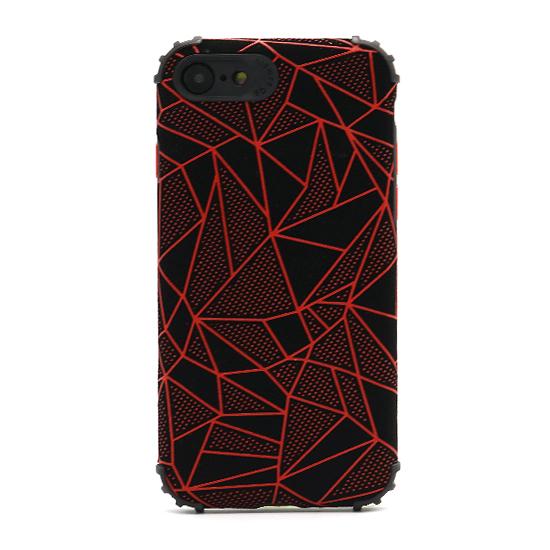 Futrola Elegant Mosaic za Iphone 7-8-SE 2020 crvena