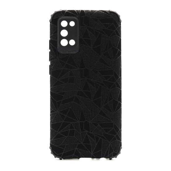 Futrola Elegant Mosaic za Samsung A025G Galaxy A02s crna