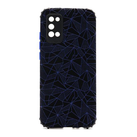 Futrola Elegant Mosaic za Samsung A025G Galaxy A02s plava