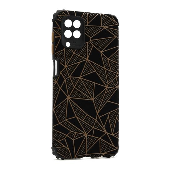 Futrola Elegant Mosaic za Samsung A125F Galaxy A12 braon