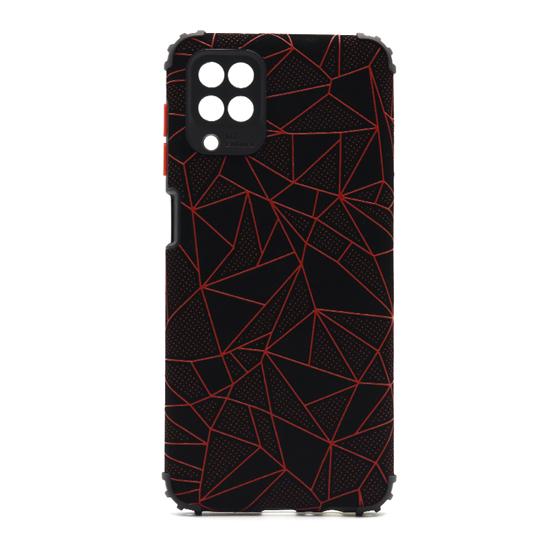 Futrola Elegant Mosaic za Samsung A125F Galaxy A12 crvena