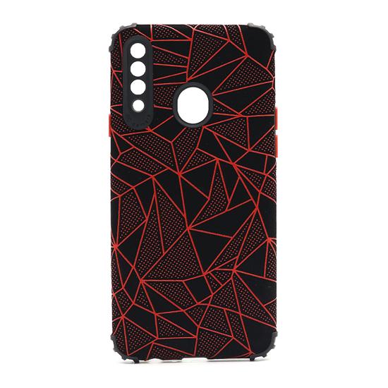 Futrola Elegant Mosaic za Samsung A207F Galaxy A20s crvena