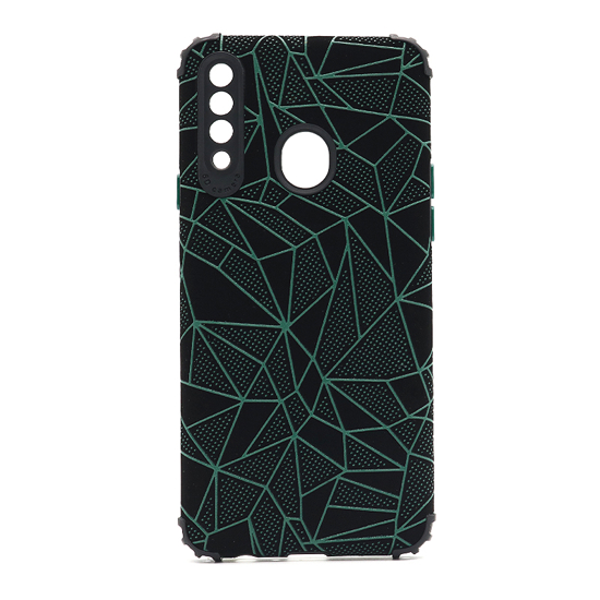 Futrola Elegant Mosaic za Samsung A207F Galaxy A20s zelena