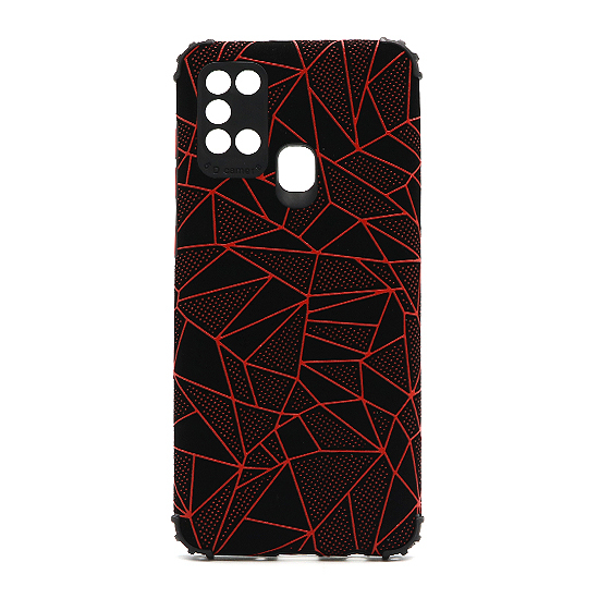 Futrola Elegant Mosaic za Samsung A217F Galaxy A21s crvena