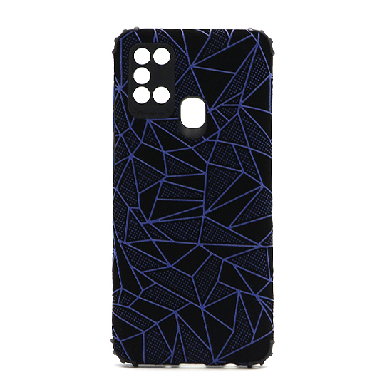 Futrola Elegant Mosaic za Samsung A217F Galaxy A21s plava