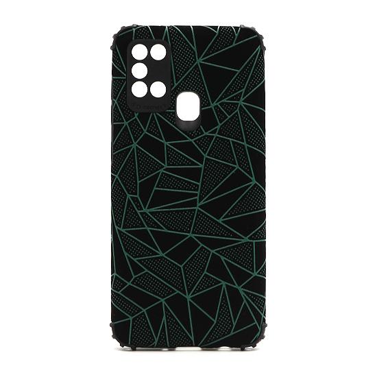 Futrola Elegant Mosaic za Samsung A217F Galaxy A21s zelena