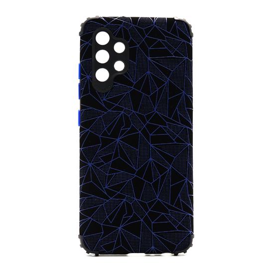 Futrola Elegant Mosaic za Samsung A325F Galaxy A32 4G plava