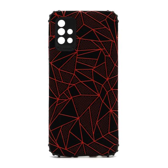 Futrola Elegant Mosaic za Samsung A515F Galaxy A51 crvena