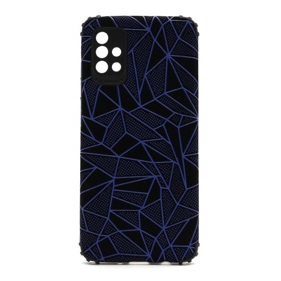 Futrola Elegant Mosaic za Samsung A515F Galaxy A51 plava