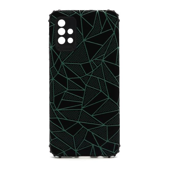 Futrola Elegant Mosaic za Samsung A515F Galaxy A51 zelena