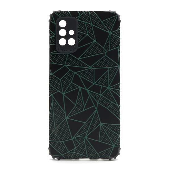 Futrola Elegant Mosaic za Samsung A715F Galaxy A71 zelena