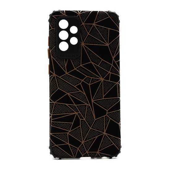 Futrola Elegant Mosaic za Samsung A725F-A726B Galaxy A72 4G-5G braon