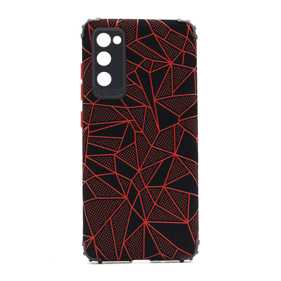 Futrola Elegant Mosaic za Samsung G780F Galaxy S20 FE crvena