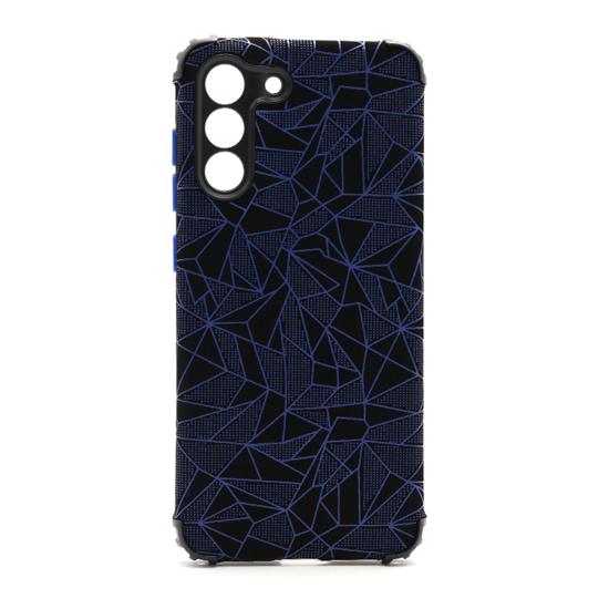 Futrola Elegant Mosaic za Samsung G990B Galaxy S21 FE plava
