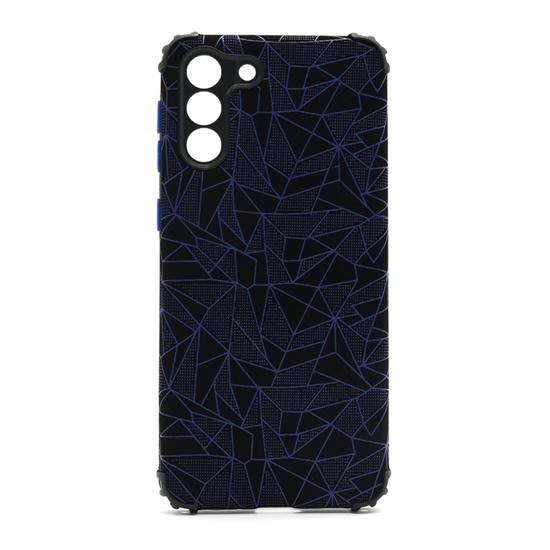 Futrola Elegant Mosaic za Samsung G991F Galaxy S21 plava