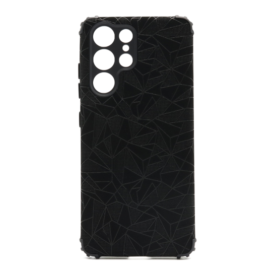 Futrola Elegant Mosaic za Samsung G998F Galaxy S21 Ultra crna