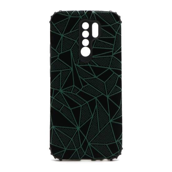 Futrola Elegant Mosaic za Xiaomi Redmi 9 zelena