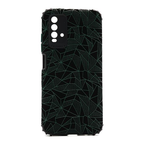 Futrola Elegant Mosaic za Xiaomi Redmi 9T/9 Power zelena