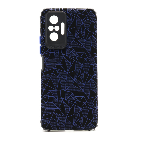 Futrola Elegant Mosaic za Xiaomi Redmi Note 10 Pro/Note 10 Pro Max plava