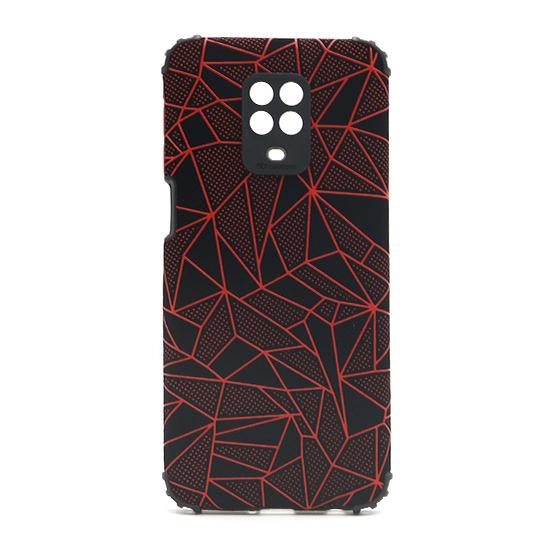 Futrola Elegant Mosaic za Xiaomi Redmi Note 9 Pro crvena