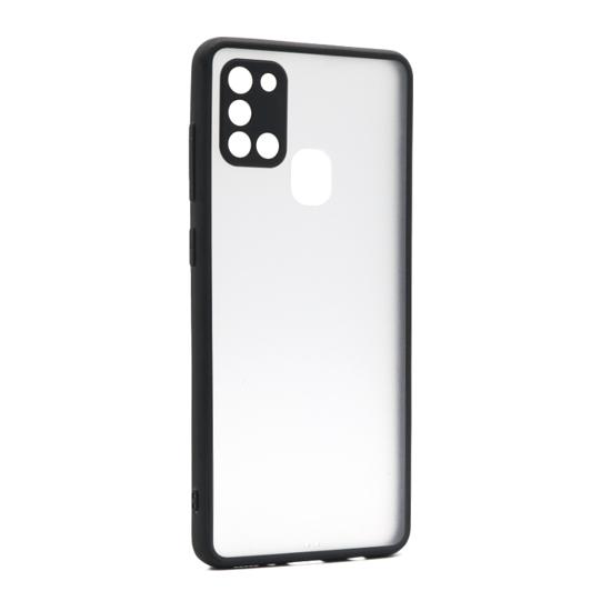 Futrola PASTEL MATTE za Samsung A217F Galaxy A21s crna