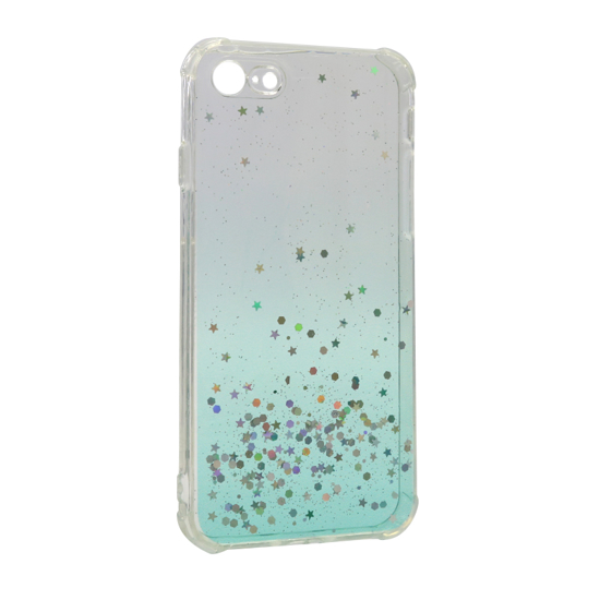 Futrola Simple Sparkle za Iphone 7/8/SE 2020 tirkizna