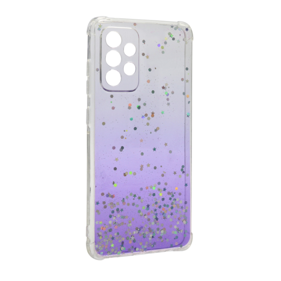 Futrola Simple Sparkle za Samsung A525F/A526B Galaxy A52 4G/5G ljubičasta