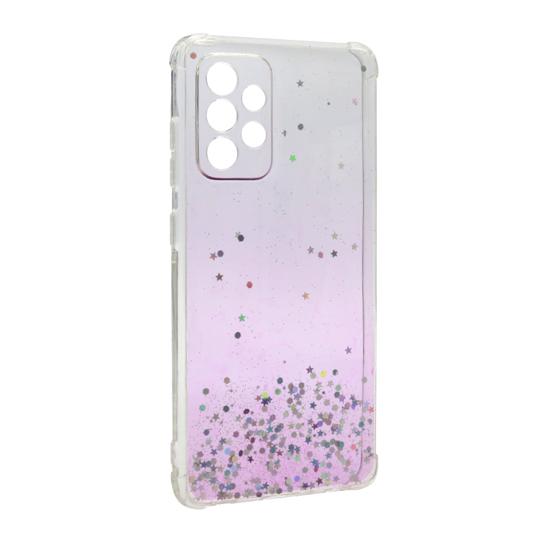 Futrola Simple Sparkle za Samsung A725F/A726B Galaxy A72 4G/5G roze