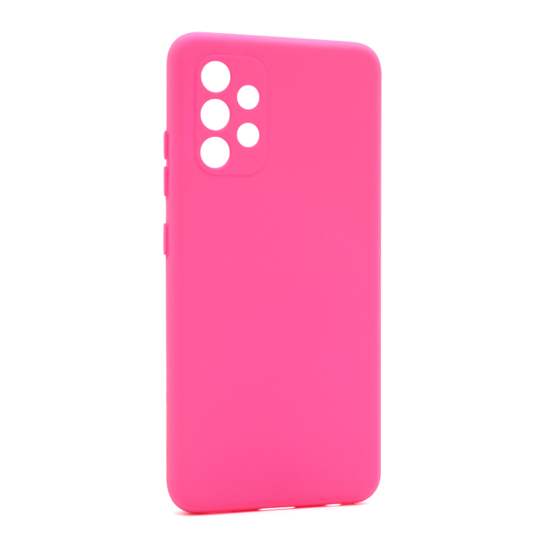 Futrola Soft Silicone za Samsung A325F Galaxy A32 4G pink