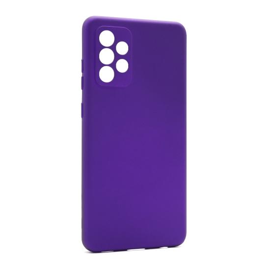 Futrola Soft Silicone za Samsung A525F-A526B Galaxy A52 4G-A52 5G ljubičasta