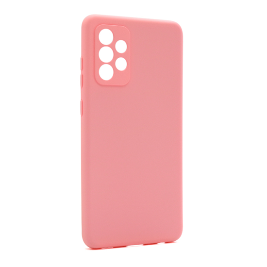 Futrola Soft Silicone za Samsung A725F-A726B Galaxy A72 4G-A72 5G roze