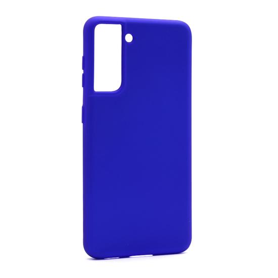Futrola Soft Silicone za Samsung G991F Galaxy S21 plava