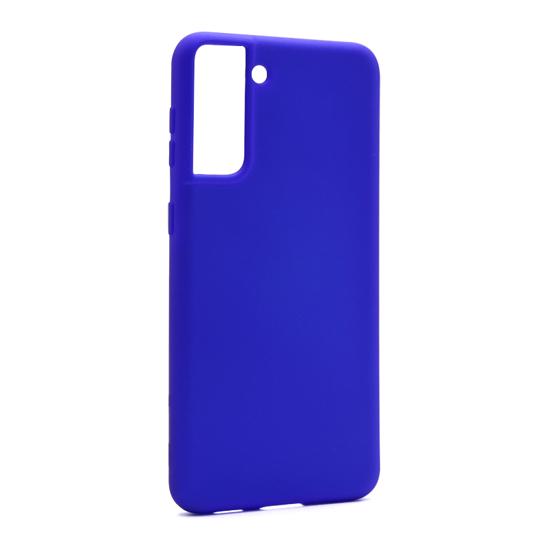 Futrola Soft Silicone za Samsung G996F Galaxy S21 Plus plava