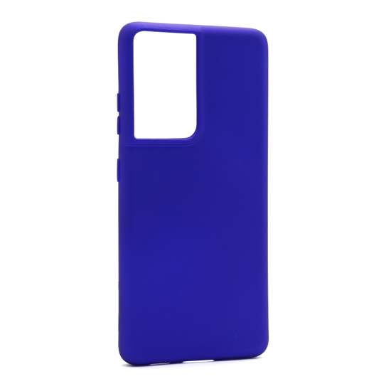 Futrola Soft Silicone za Samsung G998F Galaxy S21 Ultra plava