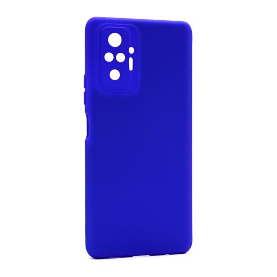 Futrola Soft Silicone za Xiaomi Redmi Note 10 Pro-10 Pro Max plava