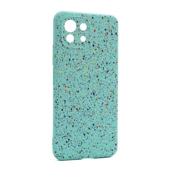 Futrola Spotty za Xiaomi Mi 11 Lite tirkizna